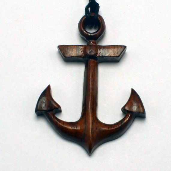 This Beautiful American Classic Anchor Pendant Is Hand