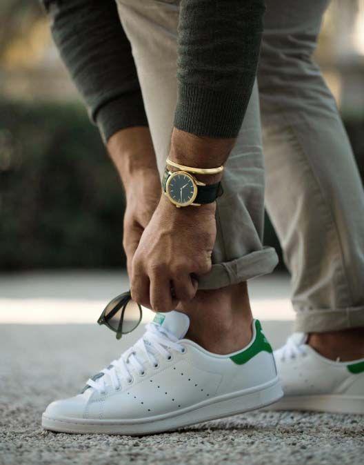 Living by Adidas Men's Stan Smith Original | Mens outfits