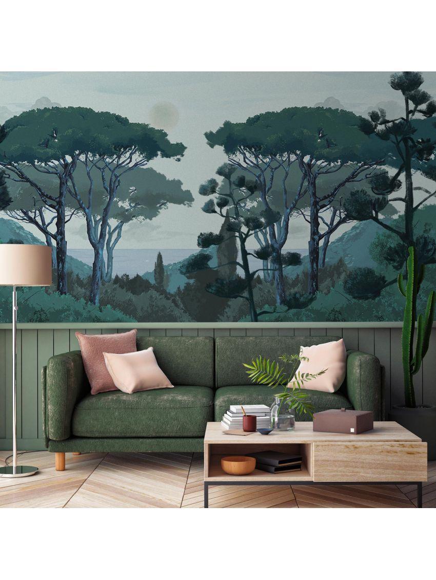 Fresque Toscane 3 à 6 Lés Fresque Parement Mural Et