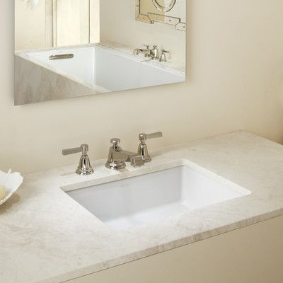 Kohler Verticyl Rectangular Undermount Bathroom Sink Reviews Wayfair