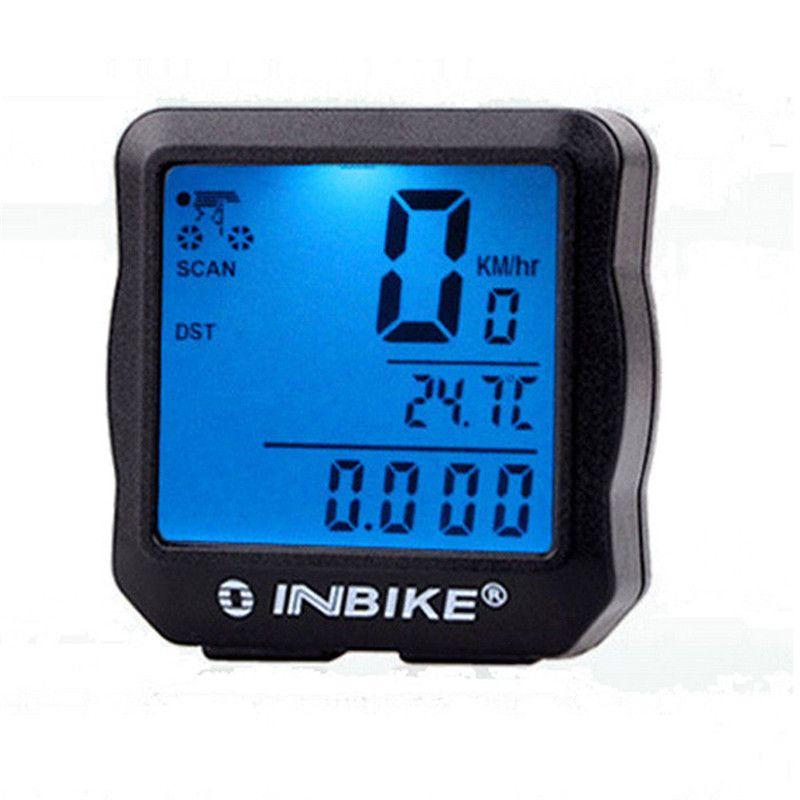 Waterproof Bicycle Odometer Speedometer Cycling MTB Bike Digital LED Display