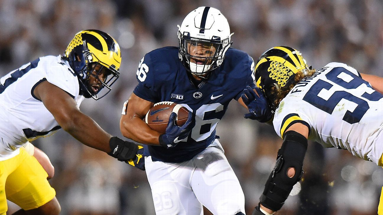 Pin on News Running back Saquon Barkley doesn't work out