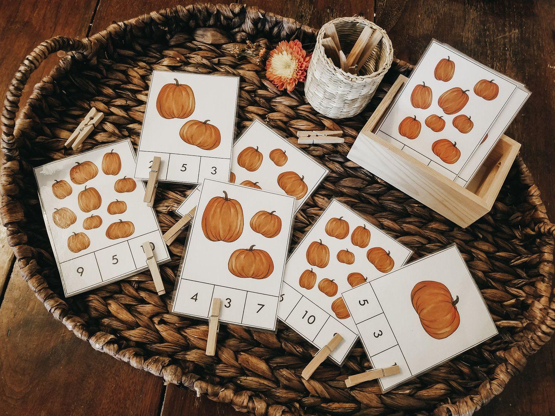 Pumpkin Invitation Bundle Unit Study