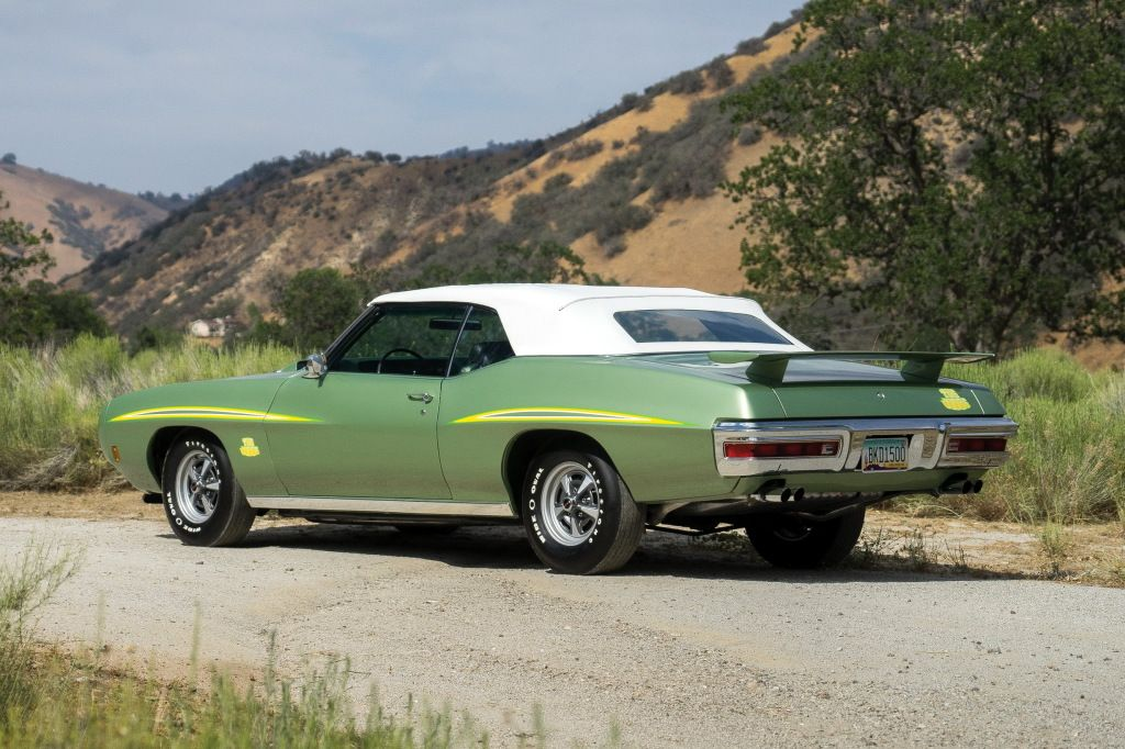 "1970 Pontiac GTO ""The Judge"" Ram Air III Convertible (4267)"