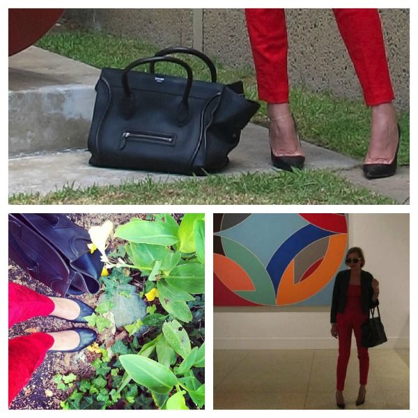 San Diego-Balboa Park, Fashion Diary- The Power of Red and Black