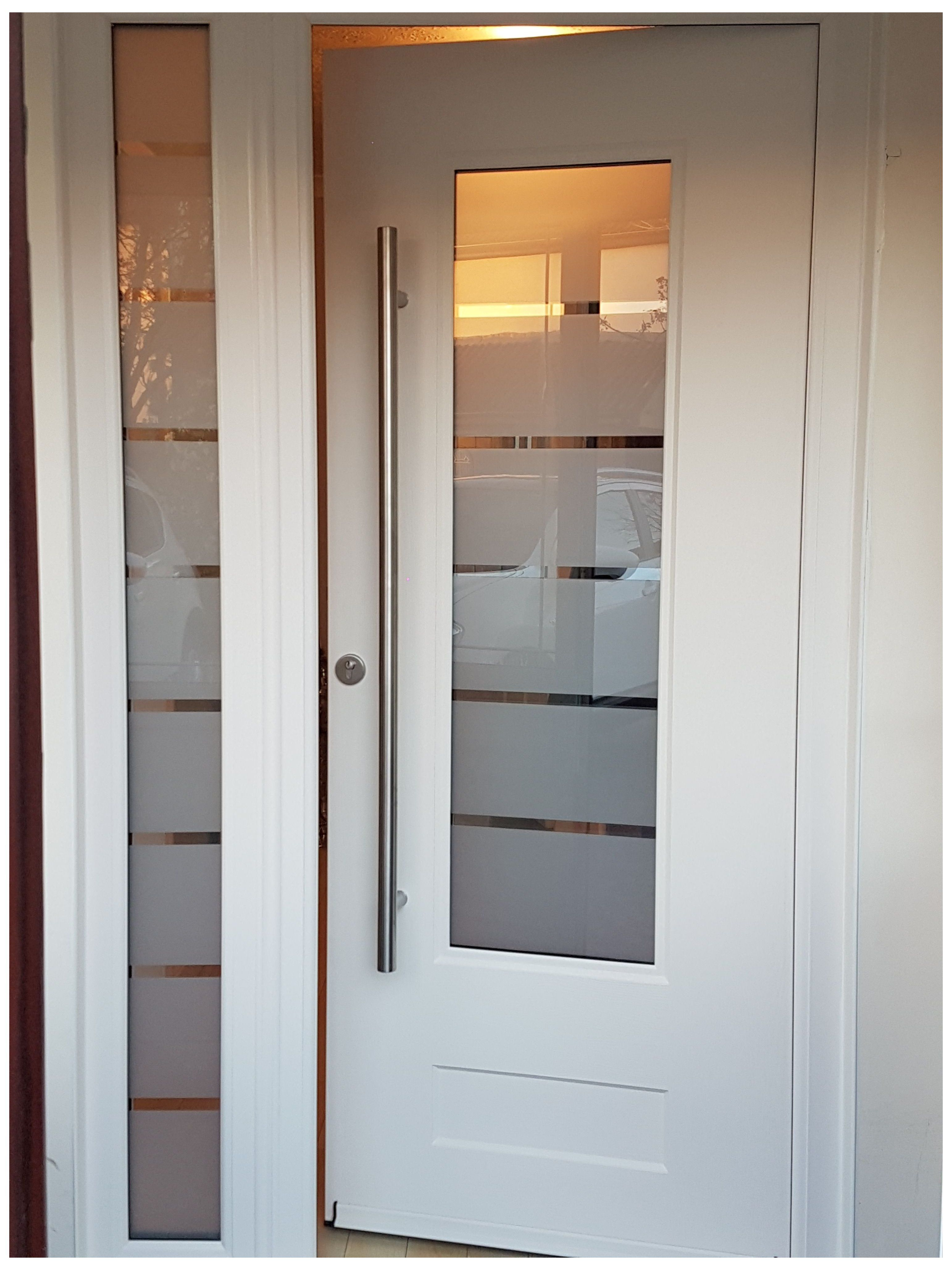 Industry Leading Manufacturer Of Tailor Made Composite Doors White Glass Front Door A Beauti In 2020 Contemporary Front Doors Front Doors Uk Sliding Doors Interior