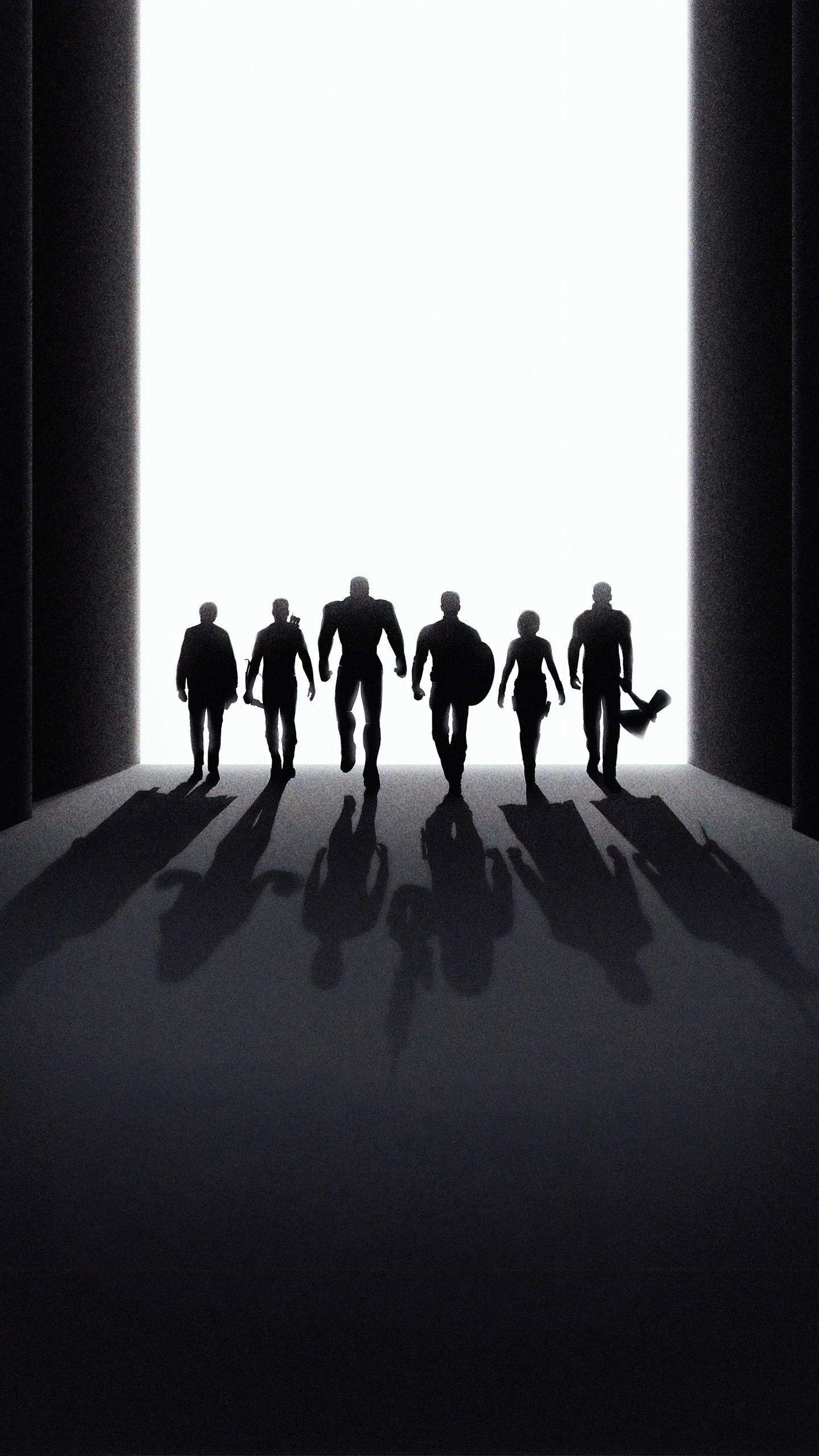 Lovely Thor Black and White Wallpaper