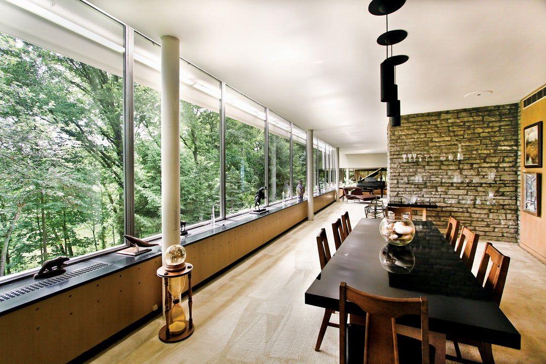 Another Great Pic Of Eliel And Eero Saarinen S Ac Wermuth House In