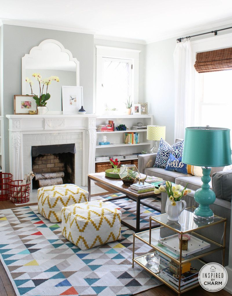 A Change of Color | Colorful living rooms, Living rooms and Room