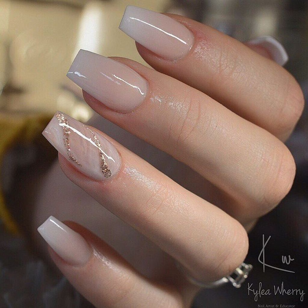 30 Casual Acrylic Nail Art Designs Ideas To Fascinate Your Admirers Romantic Nails Coffin Nails Designs Bridal Nails