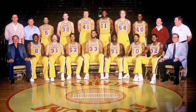 Los Angeles Lakers 1981 1982 Roster Lakers Lakers Championships Lakers Basketball
