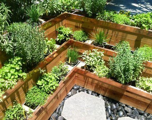 climbing corner herb garden Ideas to try Pinterest Gardens