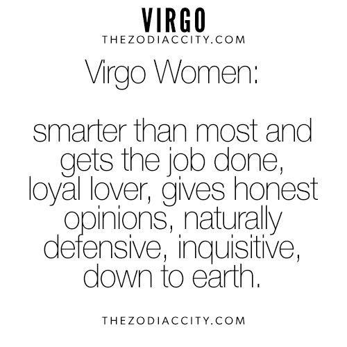 Virgo woman astrology