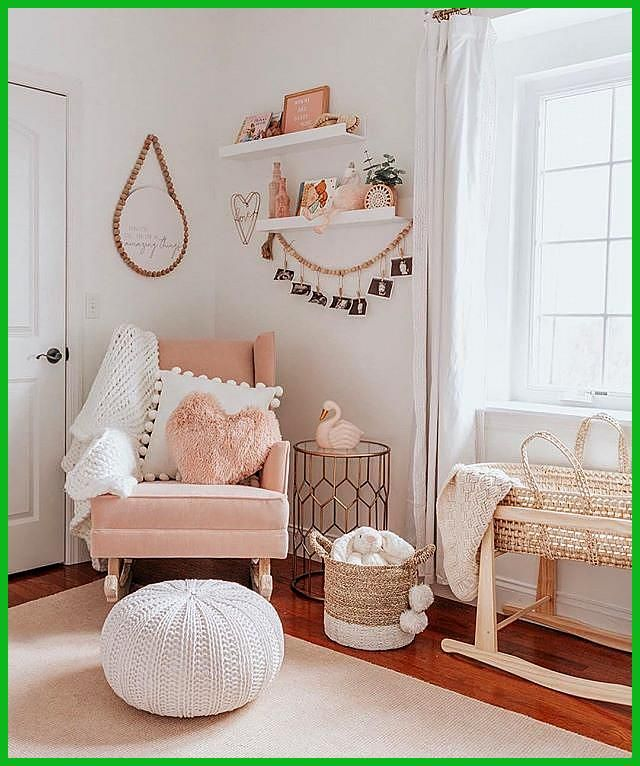 Project Nursery on Instagram  The sweetest little nursing reading rocking nook w...
