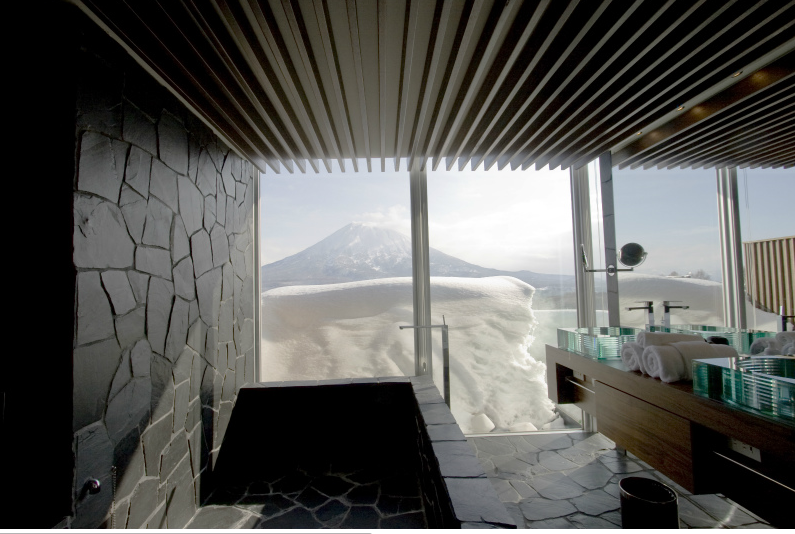 The Vale Niseko - Take in the views while you get ready