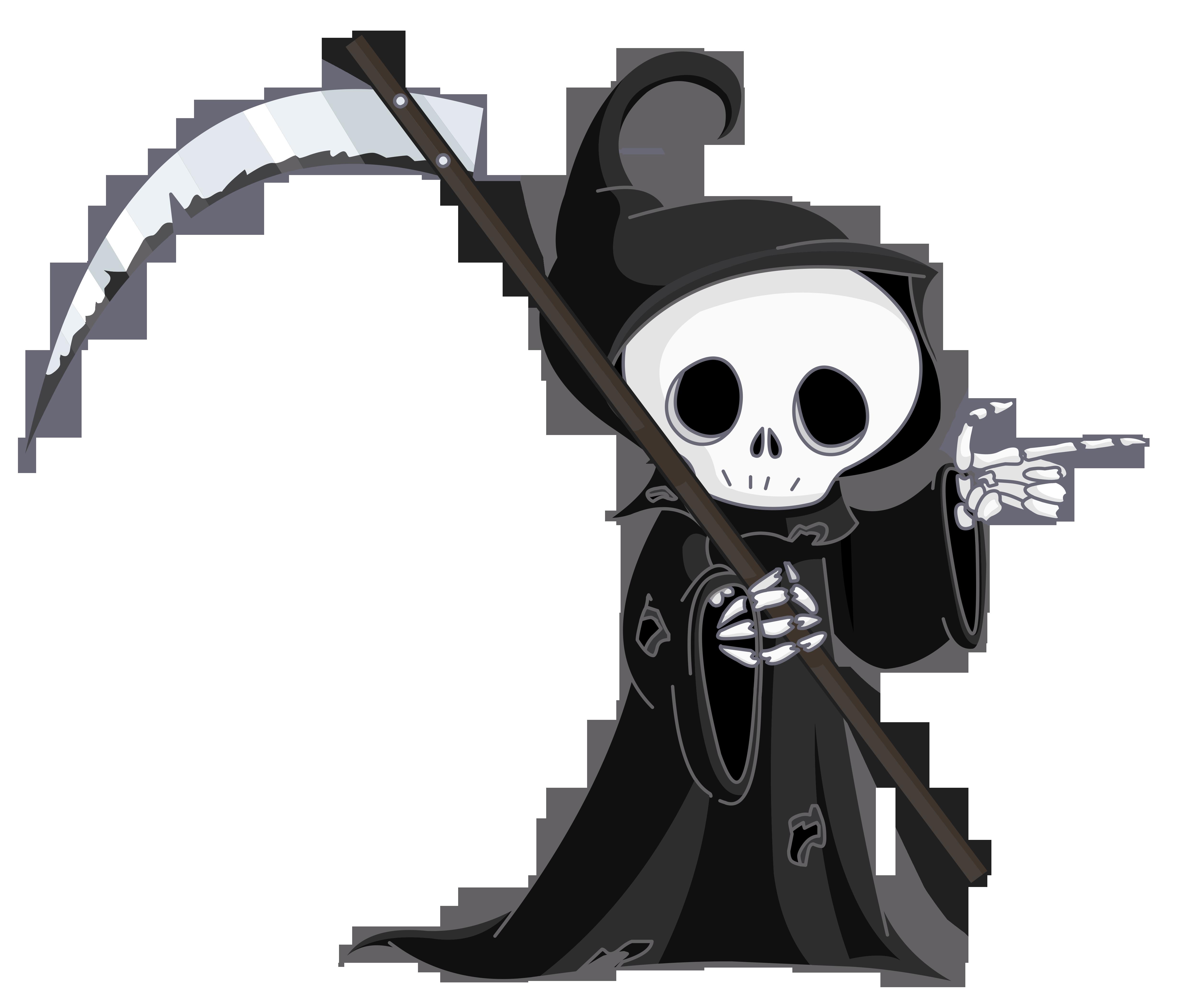 Grim Reaper Png Clipart Grim Reaper Tattoo Grim Reaper Cute Fantasy Creatures