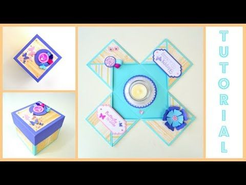 Diy Paper Crafts How To Exploding Box Kit Explosion Box Card