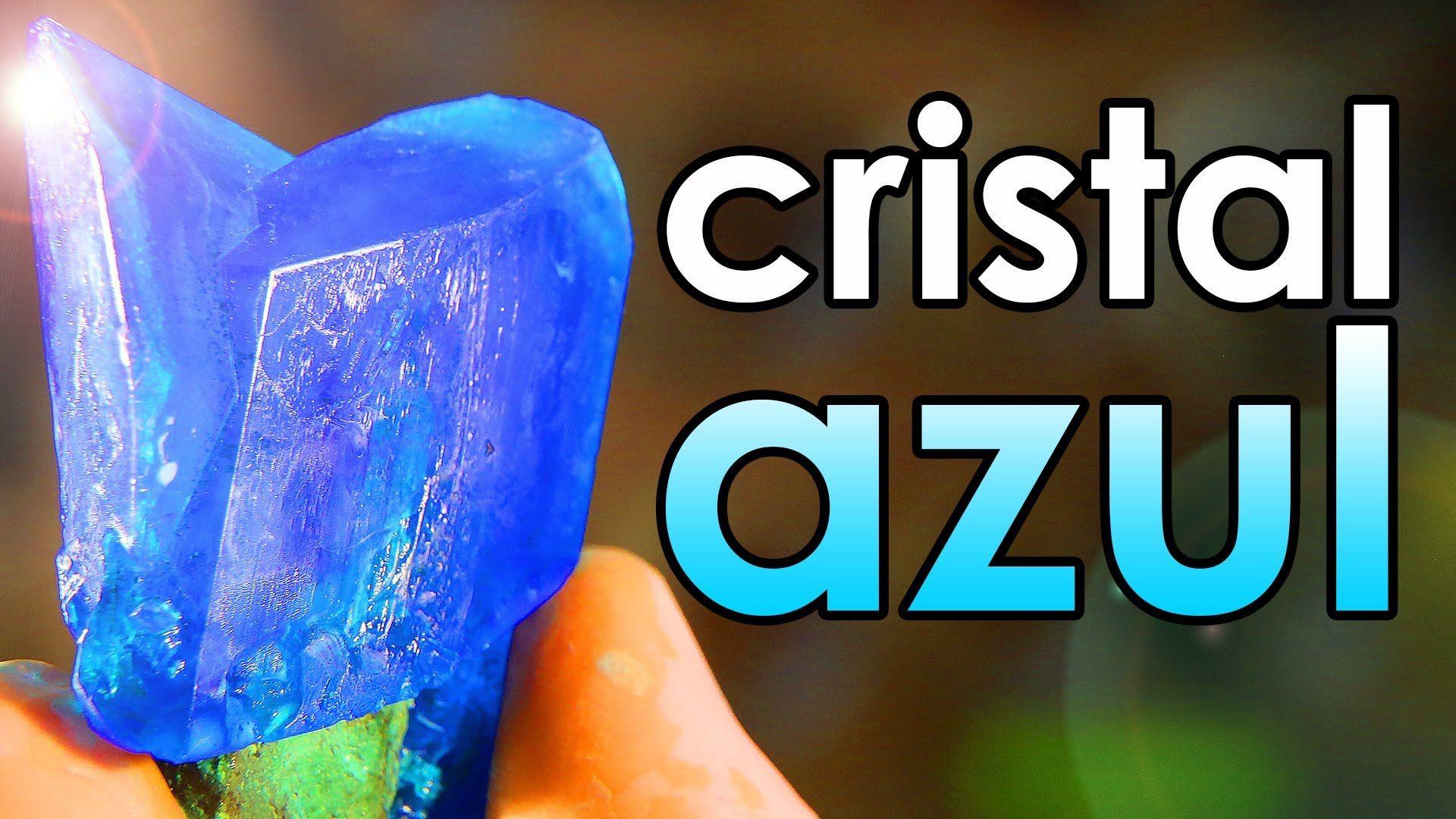 Como Fazer Cristal Azul Em Casa Experiencia Com Imagens