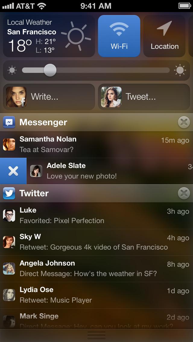 iOS Notifications