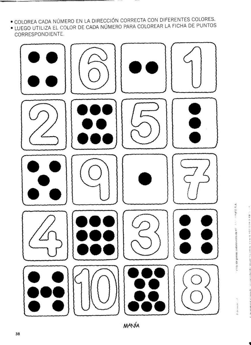 Los Números Del 1 Al 30 Matemáticas Pensamiento Matemático