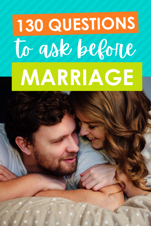 130 Questions for Couples to Ask Before Marriage | Before