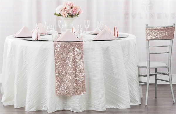 Licht Roze Stoel : Glitz sequin spandex chair band blush rose gold