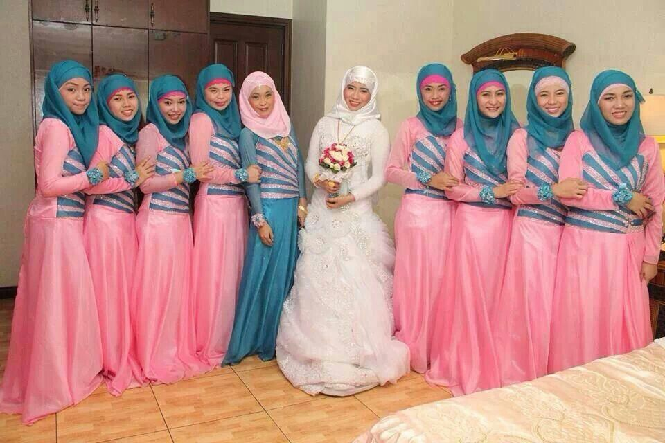 Bridesmaids | My Beauty My Veil | Pinterest