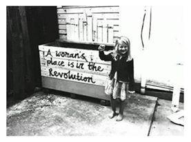 """""""Lugar de mulher é na revolução"""""""