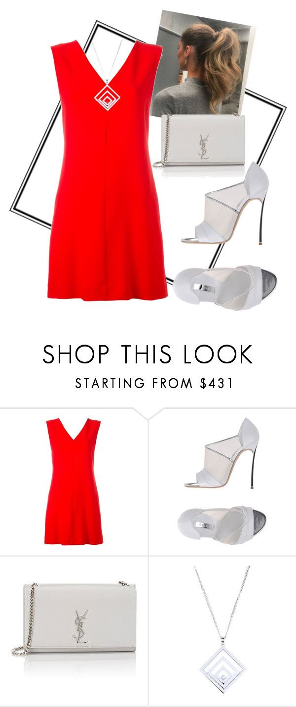 """❤"" by alexandraspring98 ❤ liked on Polyvore featuring STELLA McCARTNEY, Casadei, Yves Saint Laurent and Chopard"