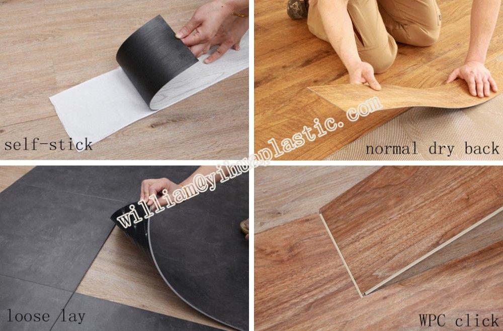 Loose Lay Vinyl Plankeasy Install Pvc Plank Floornon Slip Back
