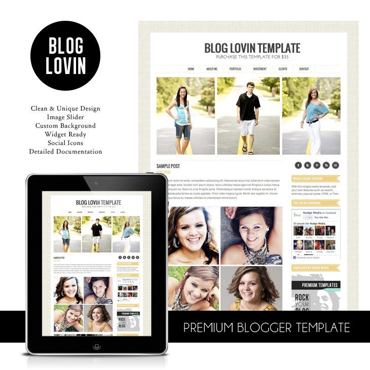 Blogger Template Pography   Blogger Template Photography Blog Template With Slider