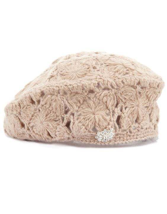 crochet beret   3 шапки   Pinterest