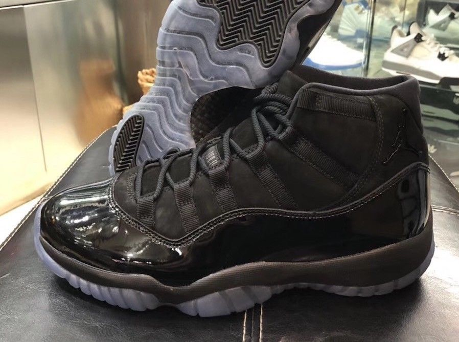 Air Jordan XI Retro 11 Prom Night Cap and Gown Triple Black (sizes 7 ... 6cbca7ba49e7
