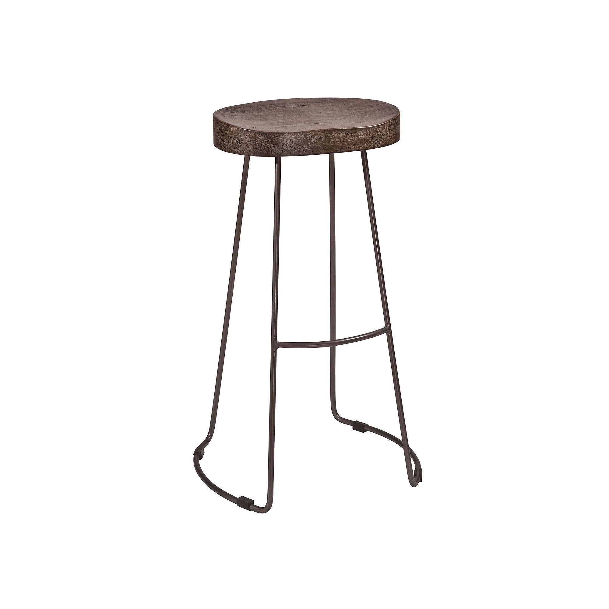 Furniture Hobbs Tractor Bar Stool Black