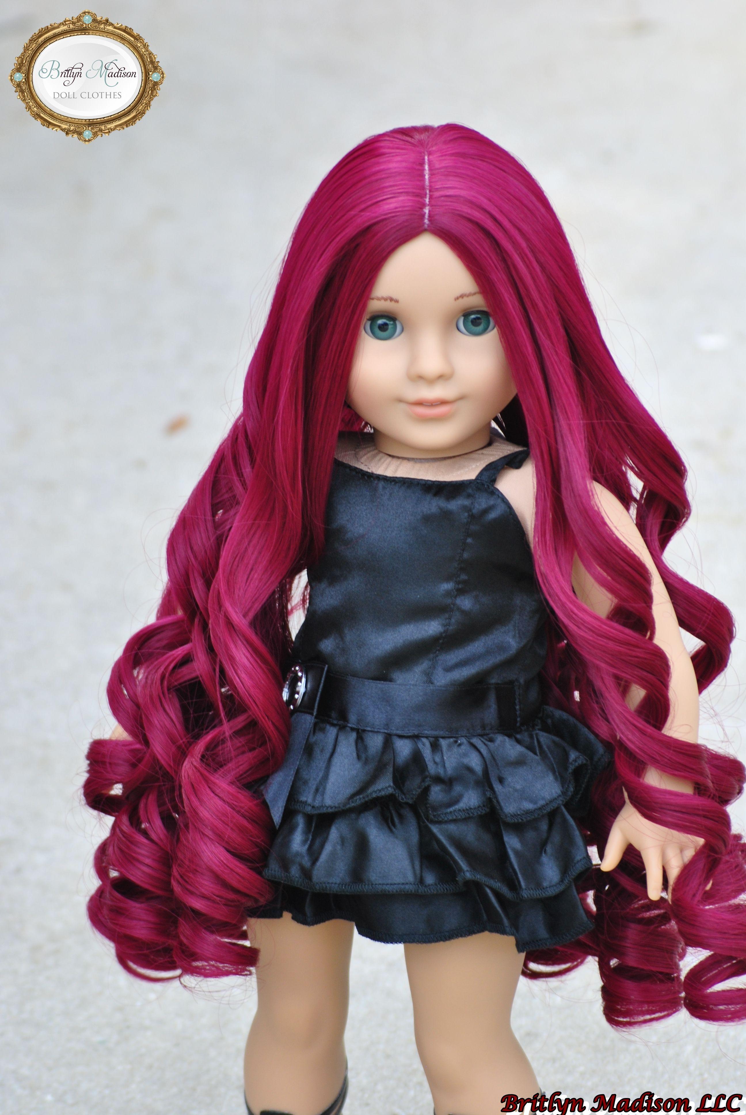 Ultra Decadent American Girl Doll Wig 18 Inch Doll Wig Size 10 11