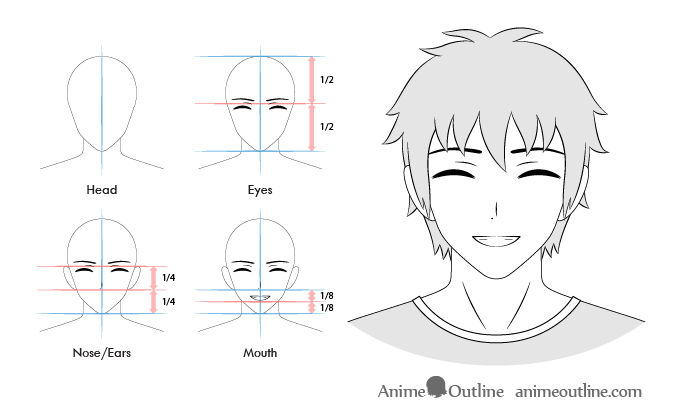 Anime Male Content Facial Expression