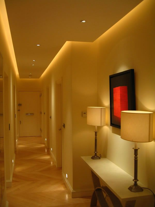 john cullen entrance lighting 07 low level lighting hallway