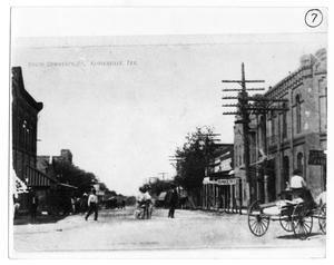 'C' Street in Floresville, date unknown