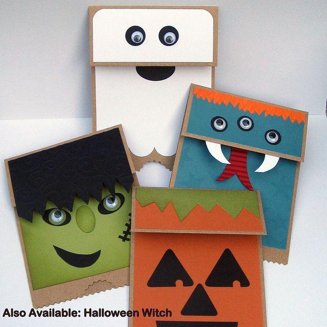 Halloween Paper Bag Puppets A Diy Project Jam Blog Halloween