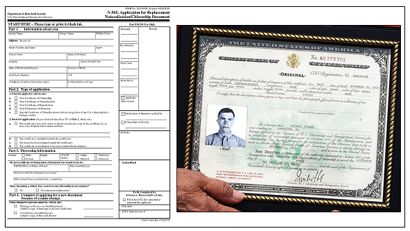 immigration certificate birth states united forms citizenship uploaded user
