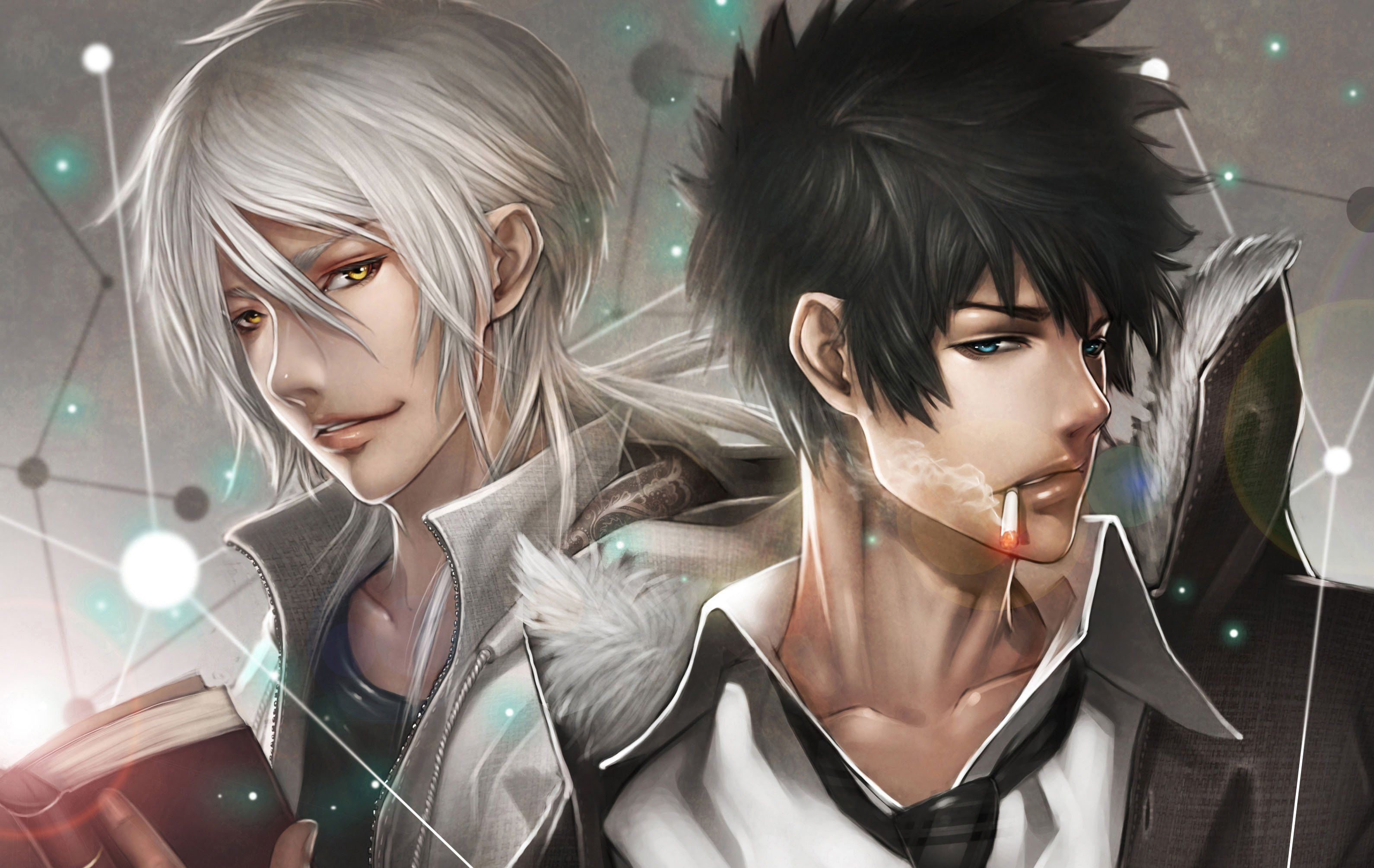 Cool Makishima And Kougami Psycho Pass Wallpaper Psycho Pass