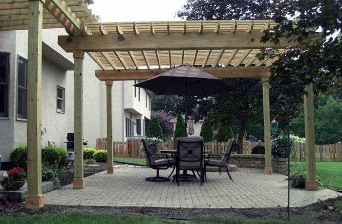 Garten Pergola Eine Idylle im Freien - holz pergola garten moderne beispiele