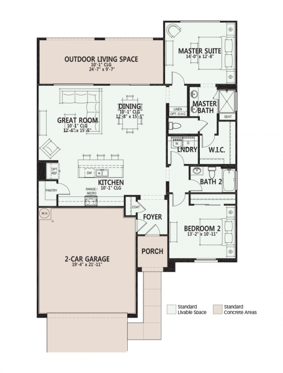 Ora home design at PebbleCreek, active adult resort-style community ...
