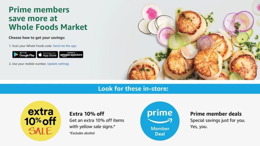 Turn Your Whole Foods Purchases Into Credit For Amazon Prime Day Whole Foods App Whole Food Recipes Whole Foods Market