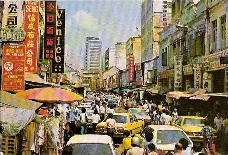 Image result for petaling street 1980s