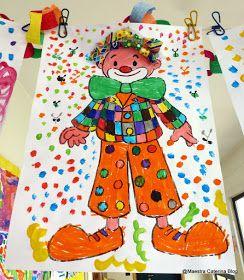 Maestra Caterina: Carnevale: simpatici pagliacci.