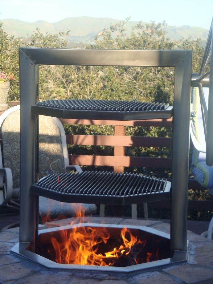 campfire santa maria bbq pit ideas for the dream house. Black Bedroom Furniture Sets. Home Design Ideas