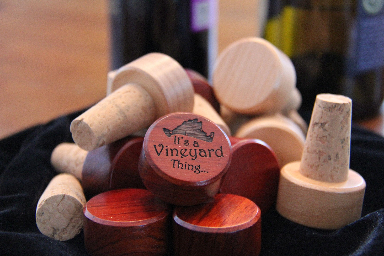 100 Martha S Vineyard Bottle Stopper Engraved Wine Cork Etsy Wine Bottle Design Personalized Wine Bottles Wine Wedding Favors