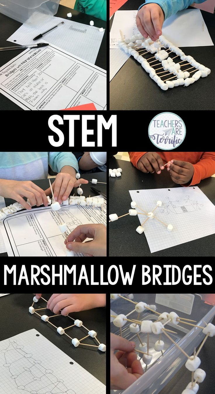 Stem bridges with marshmallows challenge marshmallow challenge stem bridges with marshmallows challenge marshmallow challenge bridge and art lessons malvernweather Choice Image