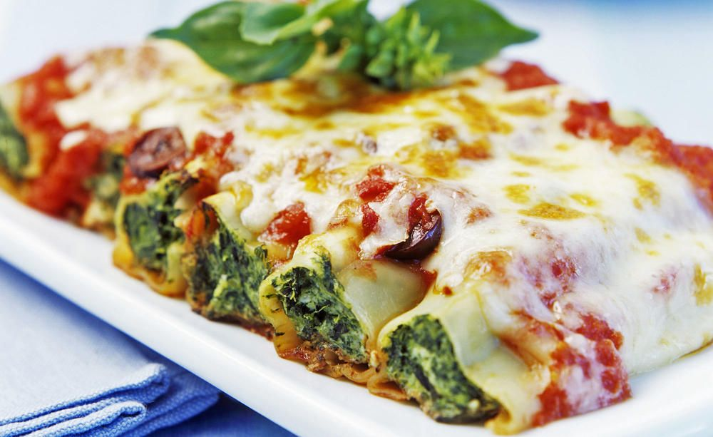 Photo of Cannelloni with spinach and ricotta filling